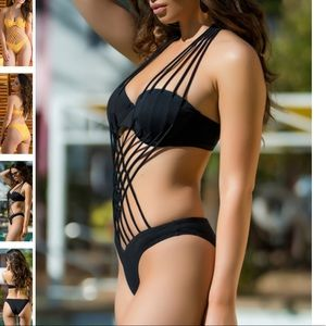 Yandy Swim - INTERWOVEN BEAUTY ONE PIECE SWIMSUIT